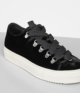 Women's Bailey Sneaker (Black) - Image 2