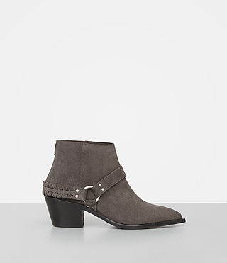 Damen Marley Suede Boot (WOOD BROWN) -