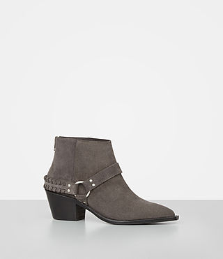 Damen Marley Suede Boot (WOOD BROWN) - product_image_alt_text_3