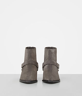 Damen Marley Suede Boot (WOOD BROWN) - product_image_alt_text_4