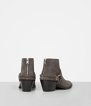 Damen Marley Suede Boot (WOOD BROWN) - product_image_alt_text_5