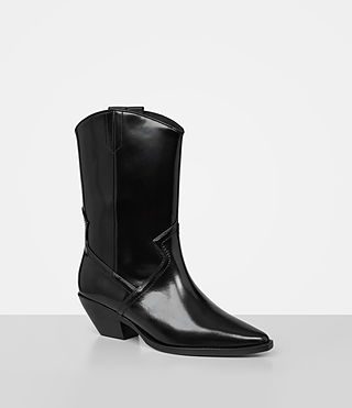 Womens Evi Boot (Black) - product_image_alt_text_2