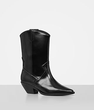 Womens Evi Boot (Black) - product_image_alt_text_3