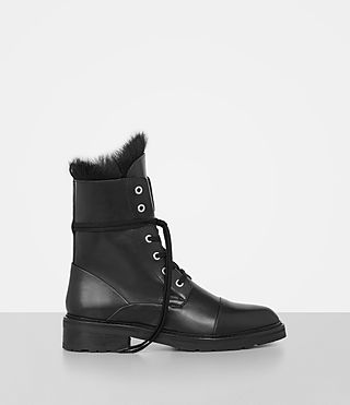 daria shearling boot