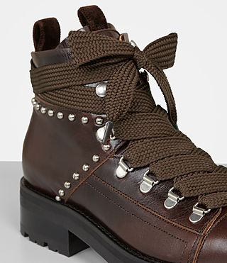 Womens Sherrin Studded (Chestnut) - product_image_alt_text_2