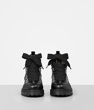 Womens Sherrin Studded Boot (Black) - product_image_alt_text_4