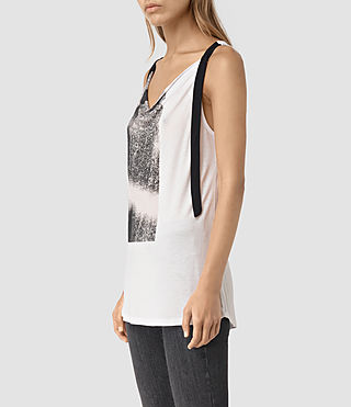 Womens Twilight Carli Tee (SMOG WHITE)