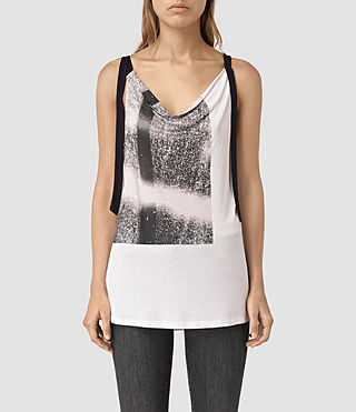 Donne Twilight Carli Tee (SMOG WHITE) - product_image_alt_text_3