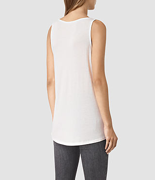 Donne Twilight Carli Tee (SMOG WHITE) - product_image_alt_text_4
