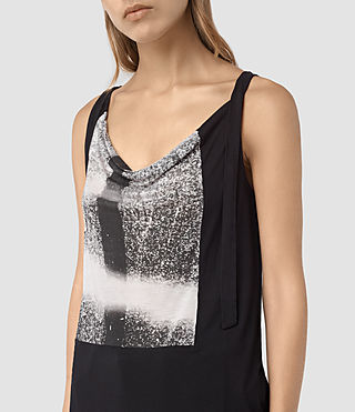 Mujer Camiseta Twilight Carli (Black) - product_image_alt_text_2