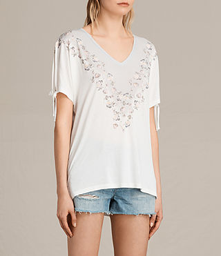 Women's Loire V Kay Tee (Chalk White) - product_image_alt_text_2