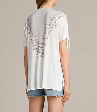Women's Loire V Kay Tee (Chalk White) - product_image_alt_text_3
