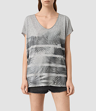 Womens Java Ole Tee (Grey Marl)