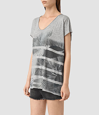 Mujer Java Ole Tee (Grey Marl) - product_image_alt_text_2