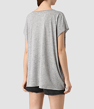 Mujer Java Ole Tee (Grey Marl) - product_image_alt_text_3
