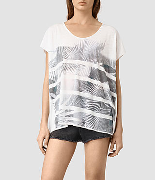 Womens Java Ole Tee (Chalk White)