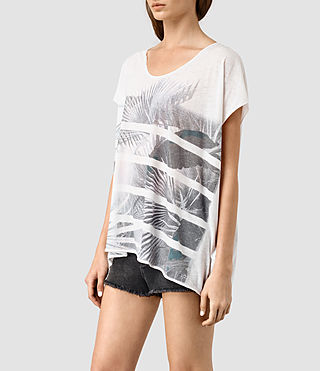 Womens Java Ole Tee (Chalk White) - product_image_alt_text_2