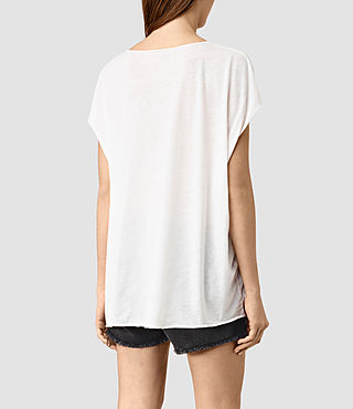 Womens Java Ole Tee (Chalk White) - product_image_alt_text_3