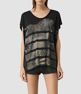 Damen Java Ole Tee (Black)
