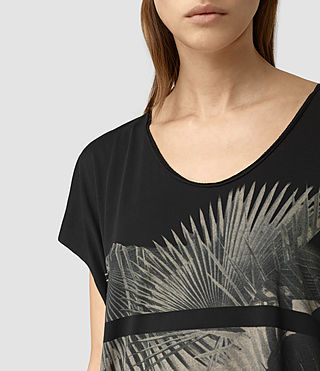 Damen Java Ole Tee (Black) - product_image_alt_text_2