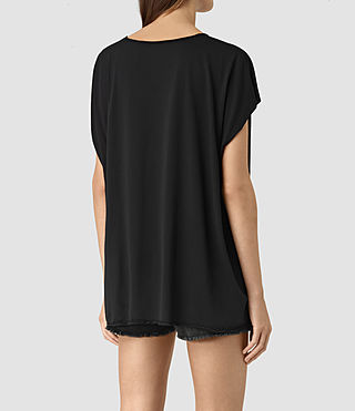 Damen Java Ole Tee (Black) - product_image_alt_text_4