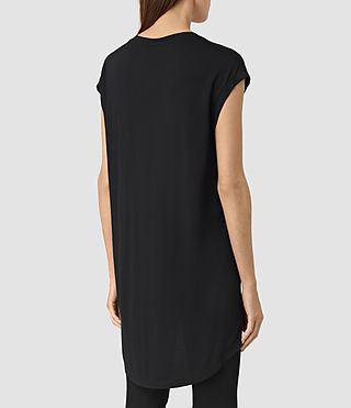 Mujer Twilight Step Tee (Black) - product_image_alt_text_3