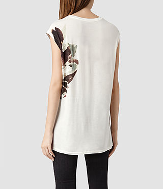 Womens Flume T-shirt (Chalk) - product_image_alt_text_3