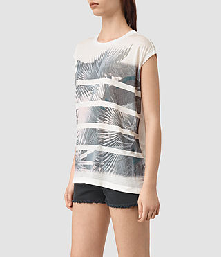Mujer Java Brooke Tee (Chalk White) - product_image_alt_text_3