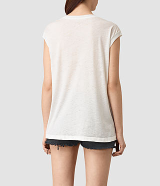 Mujer Java Brooke Tee (Chalk White) - product_image_alt_text_4