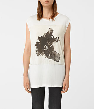 Donne Tulipa Brooke Tee (Chalk White)