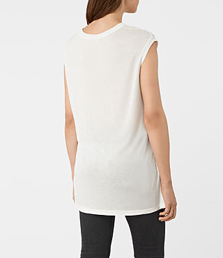 Mujer Tulipa Brooke Tee (Chalk White) - product_image_alt_text_3