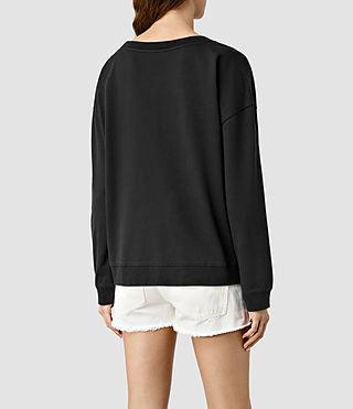 Mujer Louder Lo Sweatshirt (Black) - product_image_alt_text_3