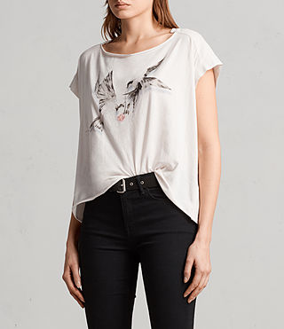 Donne T-shirt Lovers Pina (WASHED) - Image 3