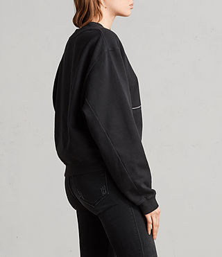 Damen Lovers Tia Sweatshirt (Black) - Image 4