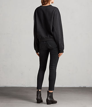 Damen Lovers Tia Sweatshirt (Black) - Image 5