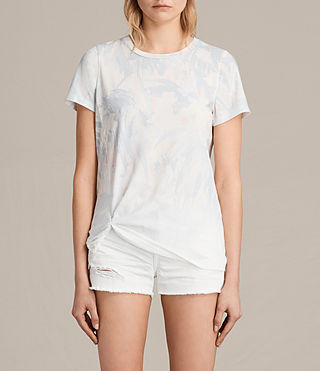 Mujer Tropix Mellon Tee (Chalk White) - product_image_alt_text_1