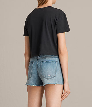 Donne T-shirt Ceylon Carter (Fadeout Black) - product_image_alt_text_3