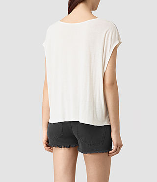 Mujer Guinea Mist Tee (Chalk White) - product_image_alt_text_4
