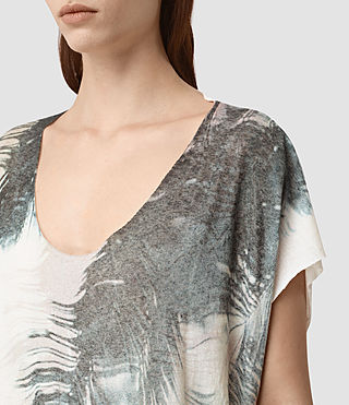 Women's Guinea Ole Tee (Chalk White) - product_image_alt_text_2