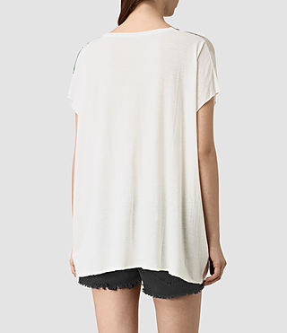 Women's Guinea Ole Tee (Chalk White) - product_image_alt_text_4