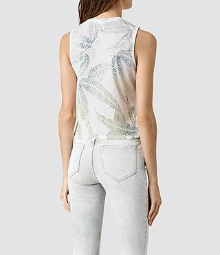 Womens Fuji Eli Tee (Chalk White) - product_image_alt_text_3