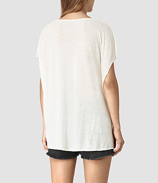 Mujer River Ole Tee (Chalk White) - product_image_alt_text_5