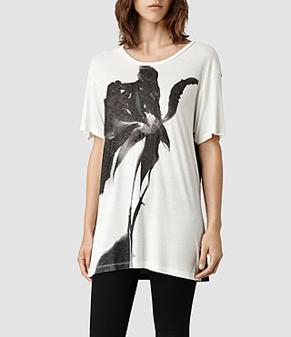 Womens Disperse T-Shirt (Chalk)