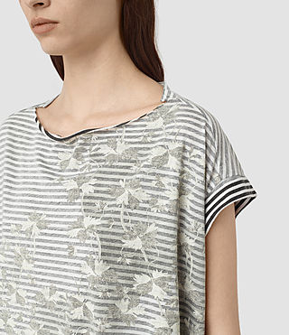 Femmes Farrow Pina Tee (CHALK WHITE/BLACK) - product_image_alt_text_2