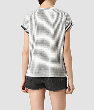 Femmes Farrow Pina Tee (CHALK WHITE/BLACK) - product_image_alt_text_4