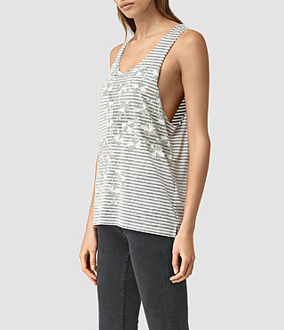 Womens Farrow Noah Vest (CHALK WHITE/BLACK) - product_image_alt_text_3