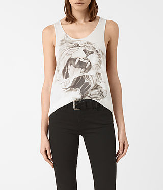 Mujer Flutter Noah Tank (SMOG WHITE) - product_image_alt_text_1