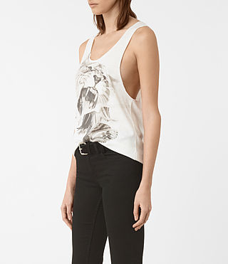 Mujer Flutter Noah Tank (SMOG WHITE) - product_image_alt_text_2