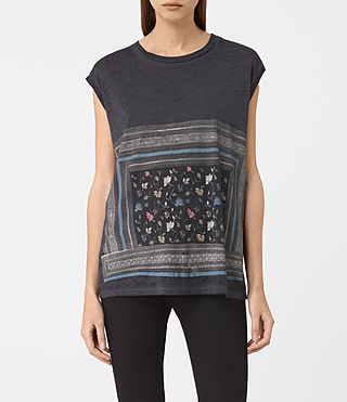 Femmes Bayeux Brooke Tee (DARK NIGHT BLUE) -