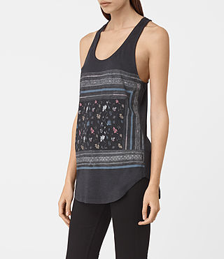 Femmes Bayeux Edge Vest (DARK NIGHT BLUE) - product_image_alt_text_2